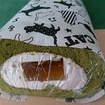 Gatti amando - 緑茶のロールケーキ