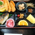 鈴喜 - 焼魚定食 1190円