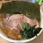 家系ラーメン 村西家 - チャーシュー麺(大)