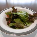 ザ・ミューゼス - カレーセットのサラダ