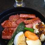 ニューびわこホテル - 料理写真:焼肉定食