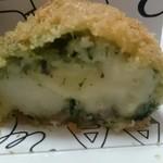 オール アバウト マイ コロッケ - ほうれん草とチーズアランチーニ¥320