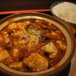 東方明珠飯店 - 四川麻婆豆腐+ライス