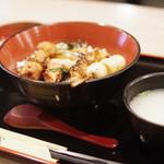 鳥繁 - 料理写真:焼鳥丼(大)ランチ