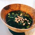 REVIVE KITCHEN THREE - 梅と玄米茶の葛汁