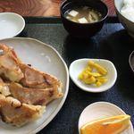 87742942 - えび餃子定食