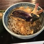 二八そば砂場 - 冷天ぷらのぶっかけ。 美味し。