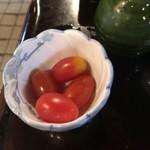 二八そば砂場 - ミニトマト。 美味し。