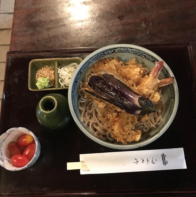 二八そば砂場 - 冷天ぷらのぶっかけ。 税込850円。 美味し。