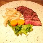 KITERU nishiazabu - 牛肉のタリアータ