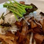 熊猫軒 - あえ麺 肉増しで。こちらも唸る旨さでした。