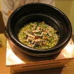 87748091 - 食事:鰻とそら豆の炊き込みご飯1