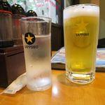 口福館 - 生ビール