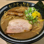 松戸富田製麺 - 濃厚中華そば(830円)