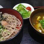 87751905 - 2段とカレー丼(700円)