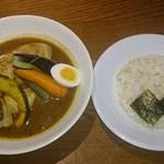 87752999 - 知床鶏野菜スープカレー北海道産