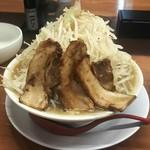 黒木製麺 釈迦力 雄 - 男の修行 豚骨醤油 200g 野菜マシマシ