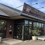 グッドネイバーズコーヒー - グッドネイバーズコーヒー パワーシティの敷地内にある利用勝手のよいお店