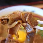 徳島ラーメン奥屋 - お肉