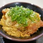 豚屋とん一 - 料理写真:カツ丼並(玉子ダブル)