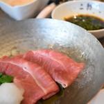 焼肉・冷麺 二郎 - 宮崎牛A5みすじの冷しゃぶ