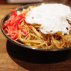 焼きそバー キノコヤ - 料理写真:ミックスやきそば目玉焼トッピング