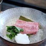 焼肉・冷麺 二郎 - 宮崎牛A5 みすじの冷しゃぶ