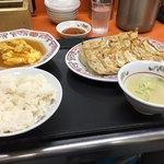 餃子の王将 - 料理写真:餃子定食