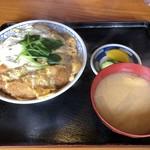 吹上のやぶ - 料理写真:かつ丼
