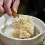 ヨネザワ - 土鍋で炊いたご飯(TKG)