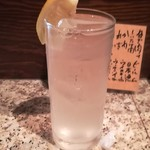 伸喜 - レモンサワー(420円)