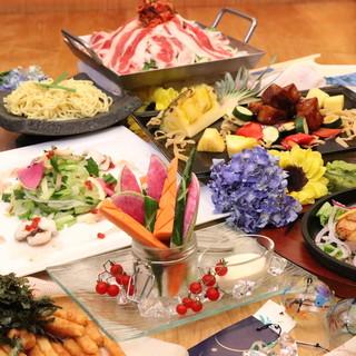 【コース料理】シーンで選びやすい豊富なコースは3500円〜★
