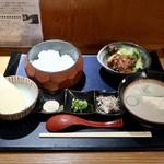 宮崎料理 万作 - 冷や汁御膳