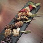 贔屓 - 貝串焼き