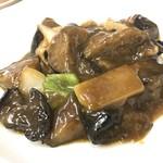 中華料理 五十番 - 茄子味噌炒め