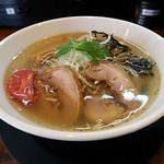 麺処 ほんだ - 塩冷麺~味氷添え~