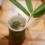 御料理 貴船 - ジュンサイと毛蟹の素麺