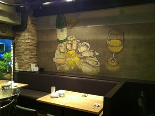 BELON 渋谷店 - 壁の絵