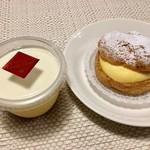 エトワール フィラント - 料理写真:プリン、シュークリーム