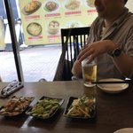 中国家常菜 同心房 - 小皿料理がいっぱいとビールも一杯楽しめる♪(´ε` )