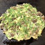 お好み焼 千草 - コッチはセルフで焼きます。