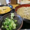 にし森 - 料理写真:  ミニ親子丼セット800円をざるで