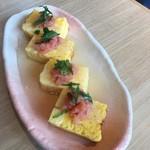 廻転寿司 CHOJIRO - 卵焼き明太のせ
