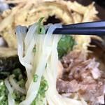 大地のうどん - 裏打会特有の麺