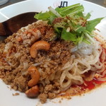 175°deno担担麺 - 汁なし担担麺(白)アップ