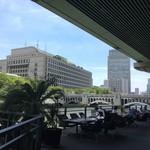 スミレオオサカ - すぐ近くが、大阪市役所