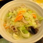 トーキョーエアポートレストラン - 野菜タンメン