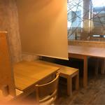 石垣 食堂 酒晴 - テーブル席