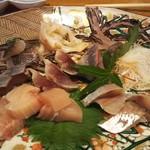 TERA寛 - 料理写真:刺身盛り合わせ