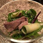 喰呑をかし - 自家製ツナと有機野菜のサラダ